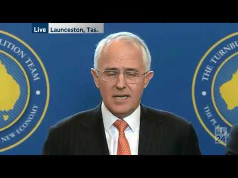 Malcolm Turnbull defends his tax cuts in response to Paul Keating opposition