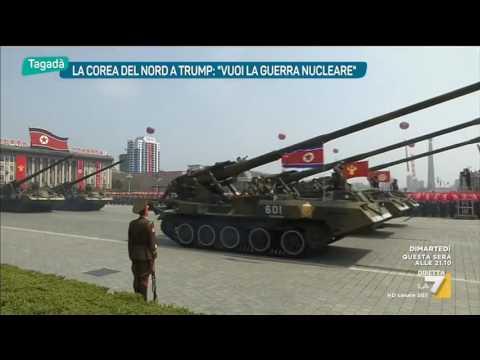 La Corea del Nord a Trump: 'Vuoi la guerra nucleare'