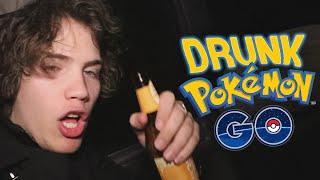 DRUNKÉMON GO - (Playing Pokemon Go Drunk) - Pokemon Go #2