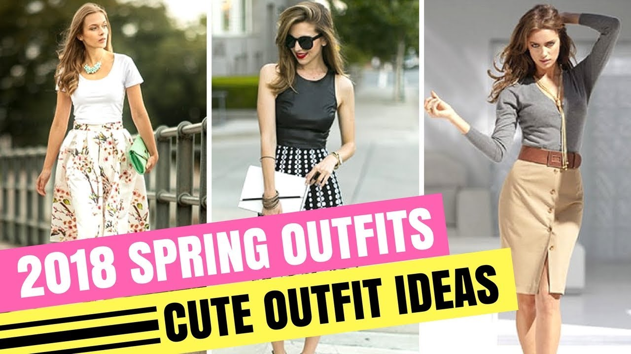 [VIDEO] - SPRING DRESSES | CUTE OUTFIT IDEAS FOR SPRING 2018 2