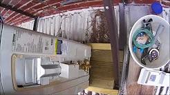 Blue Ridge Ductless Mini Split System Install