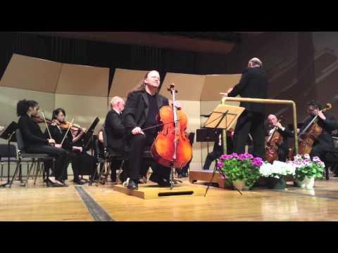 Jameson Platte Plays Haydn Concerto For Cello In C, Movement 2