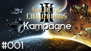 Galactic Civilizations 3 Deutsch ★ #01 Menschen Kampagne ★ GC 3 Lets Play