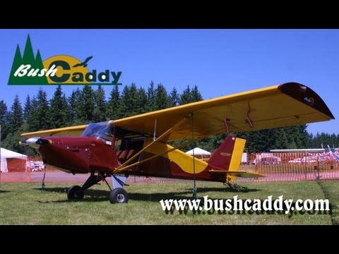 BushCaddy light sport aircraft, Arlington Fly-In, Arlington Washington, USA