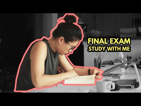 Study With Me--Finals Exams Edition (no music)