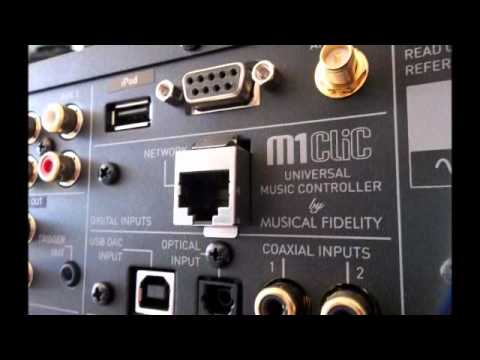 Musical Fidelity M1 CLiC Overview