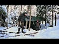 Winter Emergency Snowshoe Camp Dual Survival Shelter 20c Canadian Wilderness Mp3