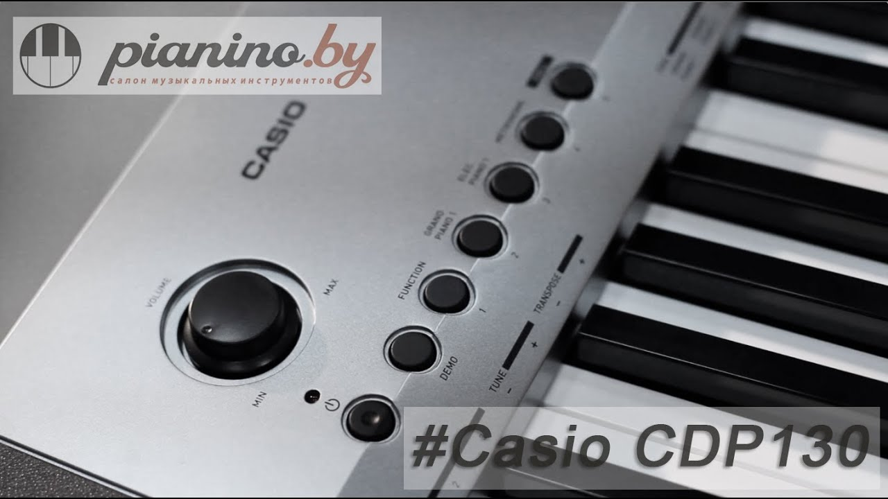 Цифровое пианино casio compact cdp-130 купить недорого в каталоге shop. By. У нас %скидки до 30% и самые выгодные цены 2018 года.