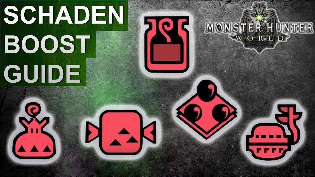 Monster Hunter World Schadens Booster Guide Deutschgerman Youtube