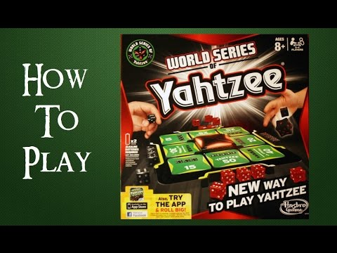 how to play world series of yahtzee - youtube
