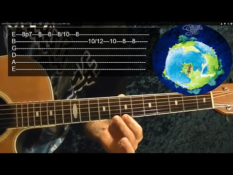 ROUNDABOUT Intro by YES - Guitar Lesson - Steve Howe