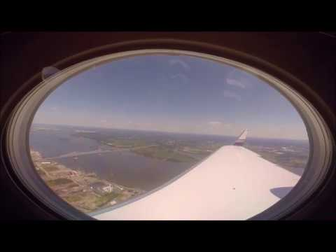 Gulfstream IV-SP Wing View Landing 9R Philadelphia International Airport KPHL