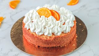Learn how to make eggless orange cake recipe at home. This is a very moist and spongy eggless orange cake recipe which is super easy cake. For making this ...