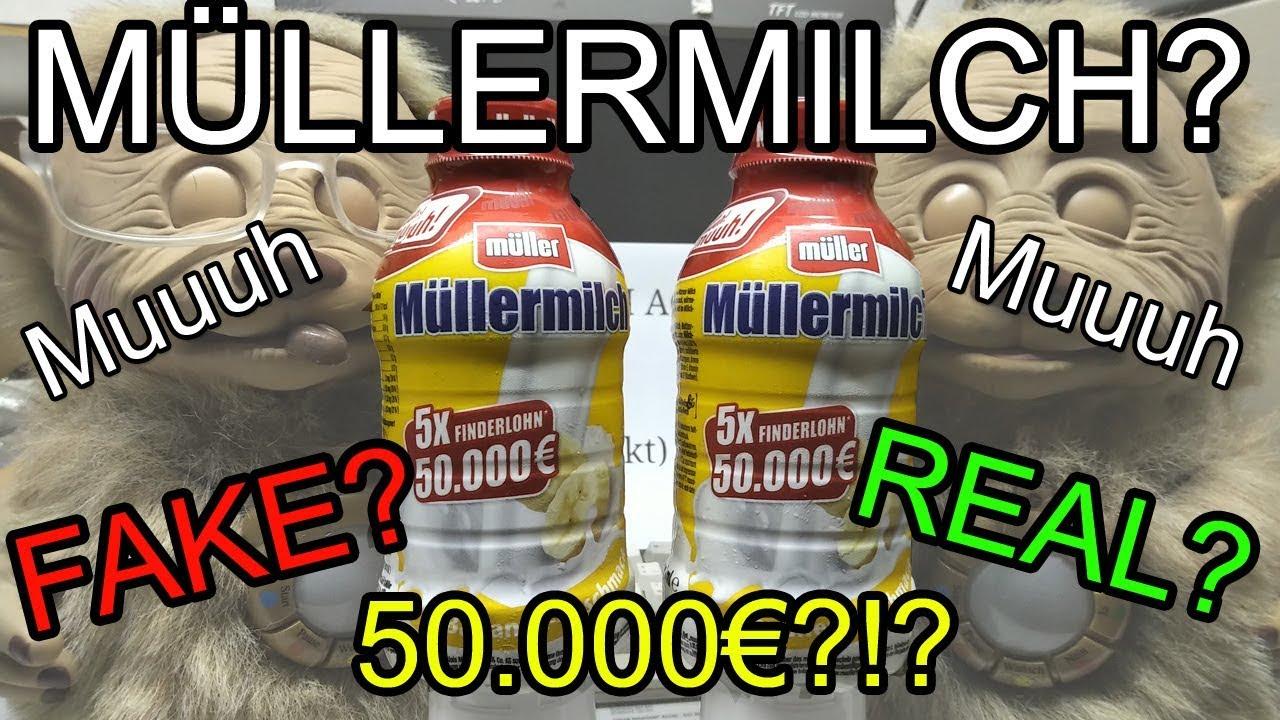 Müllermilch Gewinnspiel Fake