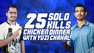 25 SOLO KILLS WITH INDIAN CRICKETER YUZI CHAHAL?   1V4 CLUTCH BOLTE   MUST WATCH