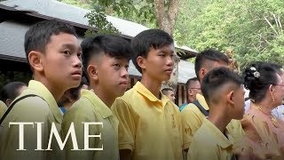 Thai Soccer Team Marks Anniversary Of Cave Ordeal With A Buddhist Ceremony | TIME