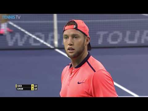 Jack Sock at his best on the ATP World Tour