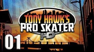 Tony Hawk Pro Skater HD #01. Que recuerdos! Gameplay, guia - tutorial en español