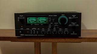 AKAI AM-2950 Amplifier LED Modification