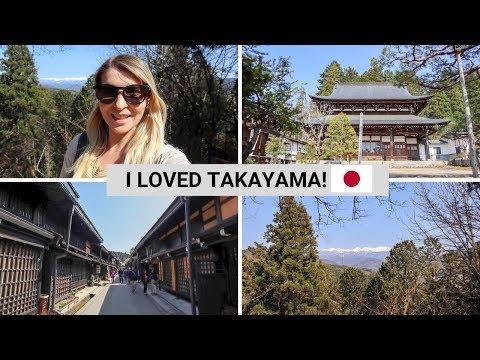 TAKAYAMA THINGS TO DO & WHY YOU SHOULD VISIT! | Backpacking Japan Vlog 6
