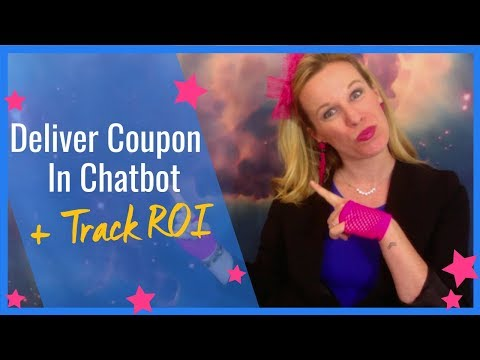 ManyChat Tutorial On How To Deliver A Coupon And Track ROI In A Chatbot – UPDATED