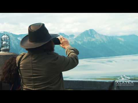 Transfer Whittier to Anchorage with Scenic Tour