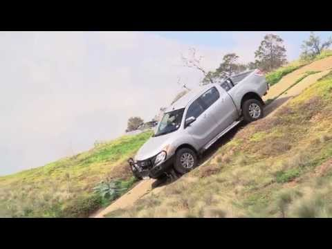 Mazda BT-50 Ute - How To use Hill Descent Control