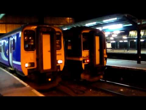 Border City Nightlife of a Rail Enthusiast (14th & 15th March 2014)