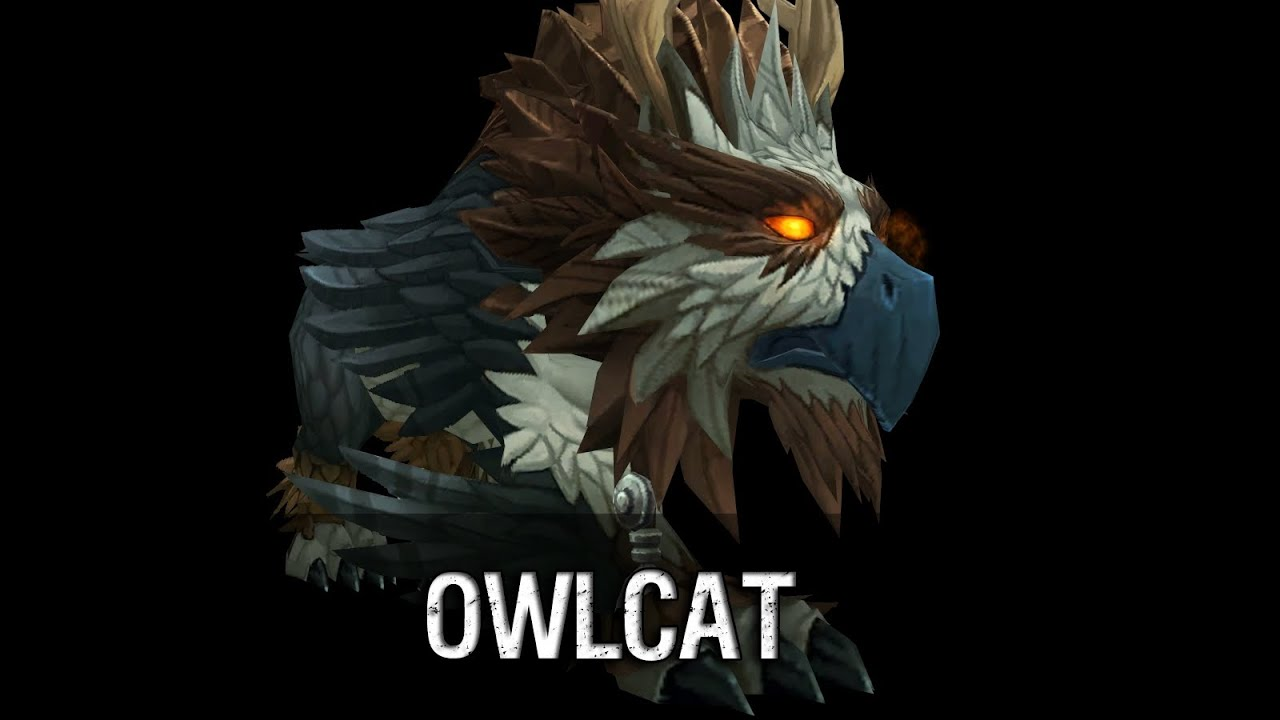 Owlcat - Legion Model - YouTube