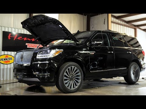 Hennessey HPE600 Lincoln Navigator Chassis Dyno Testing