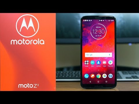 Unboxing the Verizon-Exclusive, 5G-Ready Motorola Moto Z3