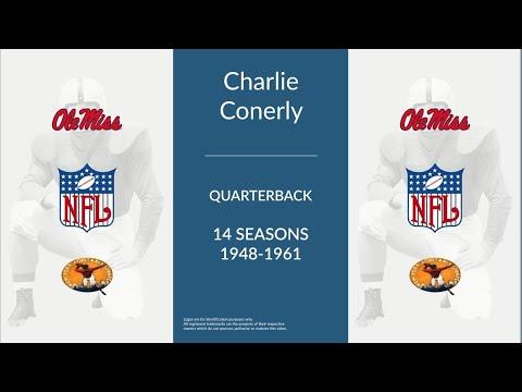 Charlie Conerly: Football Quarterback