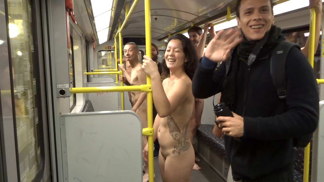 Naked Woman Destroys Subway While High On Drugs
