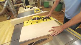 Tommy Mac - Using A Tapering Jig