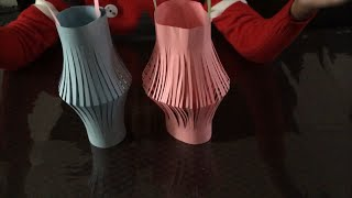 How to make paper lantern / easy fun activity for kids
