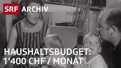 Haushaltsbudget der Familie Schäppi (1965) | SRF Archiv