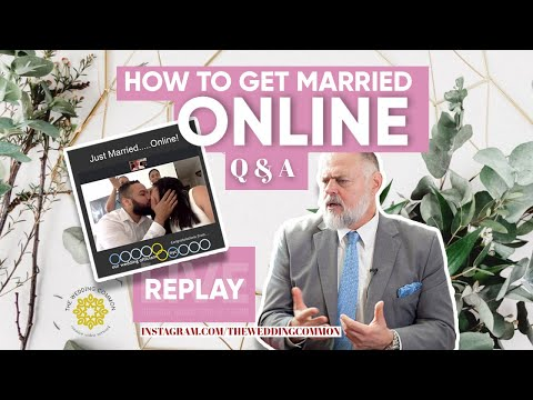 HOW TO GET MARRIED ONLINE IN NEW YORK - COVID special