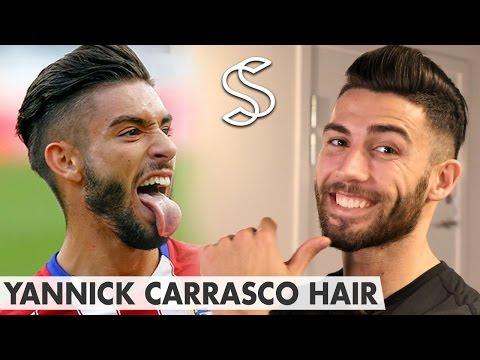 Yannick Ferreira Carrasco Hairstyle ★ Slick back pompadour ★ Men's hair
