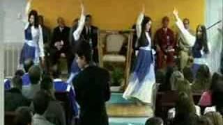 Avivamento da fe USA - Grupo de dança dez/31/07