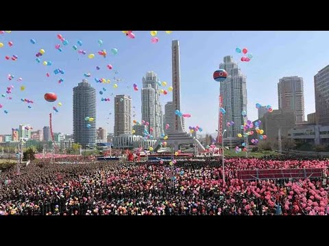 Thumbnail: 200 reporters witness the DPRK's 'big event', as Kim Jong Un unveils new street