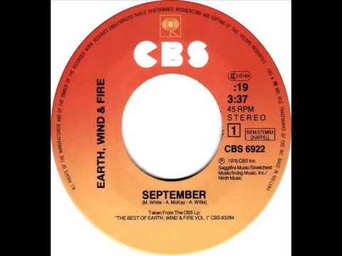 Earth Wind & Fire - September (Dj ''S'' Bootleg Extended Dance Re-Mix)