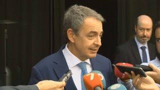 """Zapatero critica que la política de Trump """"es un auténtico desastre para Venezuela"""""""