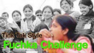 puchka challenge tiktok | Wow Fuchka