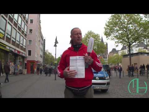 Kölschsche Jung Achim vom AFD Parteitag in Köln. Aktuelle Bilder vor Ort. +++++ Bitte Teilen +++