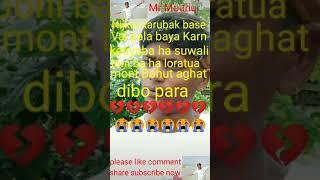 Assamese status video abuku hosa morm Kar babe rakhila hedo  duyar khuli rakhisu