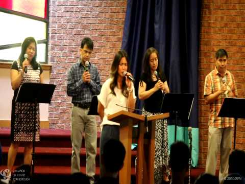 July 5, 2015.1 CLC-S Praise & Worship, Opening Prayer & Communion