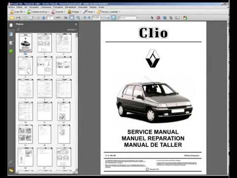 renault clio manual de taller service manual manuel reparation rh youtube com Renault Clio Sedan Renault Clio RS