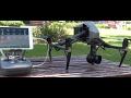 DJI Inspire 2 Field Test - DJI's new release Drone Test flight -  high winds 2017