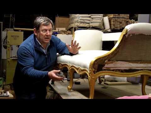 Guilding An Antique Sofa
