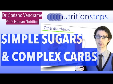 Simple Sugars & Complex Carbs